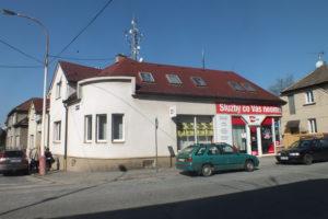 Prodej objektu s využítím pro podnikatelskou činnost, širší centrum Tábora, ulice Petra z Ústí