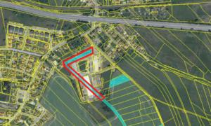 Prodej souboru pozemků (celkem 3612m2) v uzavřeném areálu Měšice u Tábora