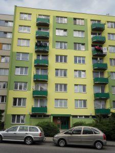 Prodej bytu 2+1 s balkonem, Tábor, ul. Petrohradská