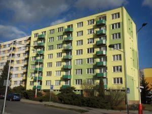 Prodej bytu 2+1, Tábor, ul. Petrohradská